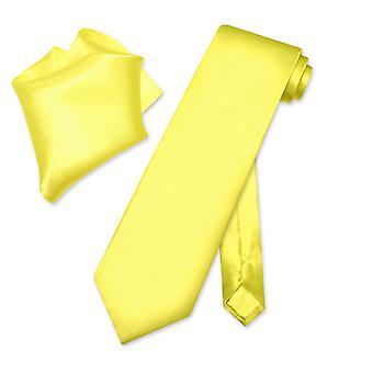 ビアジオ 100% シルク ソリッド ネクタイ ・ ハンカチ メンズ首ネクタイ セット