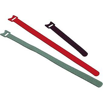 Hook-and-loop cable tie for bundling Hook and loop pad (L x W) 250 mm x 13 mm