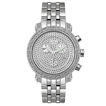 Joe Rodeo diamond men's watch - CLASSIC Silver 3.5 ctw