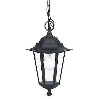 1 открытый фонарь свет кулон EGLO Lanterna4 черный IP33