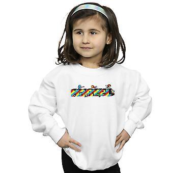 Marvel Girls Kawaii Marvel Stripes Sweatshirt