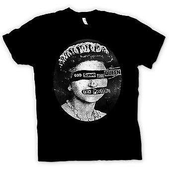 Womens T-shirt - God Save The Queen - Punk