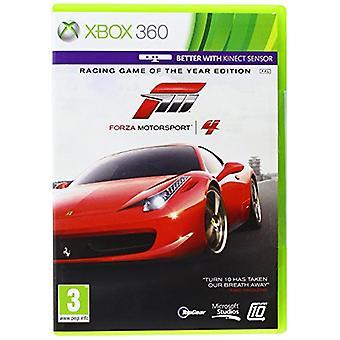 Forza Motorsport 4 spel van het jaar