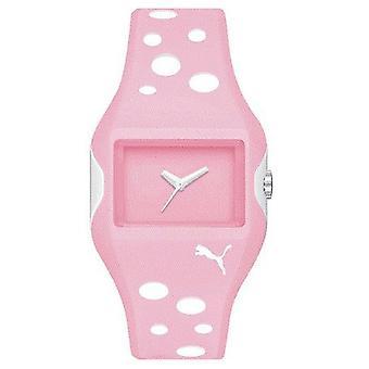 PUMA reloj pulsera reloj rosa señoras activo flujo PU900081001