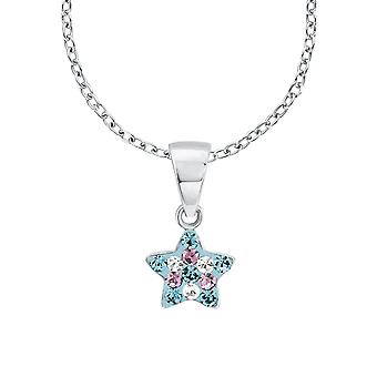 Princess Lillifee child kids necklace Silver Star crystals 2013183