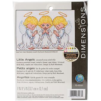 Little Angels Counted Cross Stitch Kit-