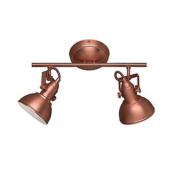 Trio Lighting Gina Modern Copper Metal Spot