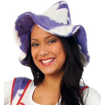 Sepplhut vaca de piel de vaca púrpura sombrero Seppel