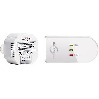 Protector Wireless descarga aire control como 6020 1000 W blanco, marrón