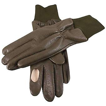 Dents Regal Right Hand Shooting Gloves - Olive