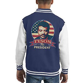 Tyson voor voorzitter Kid's Varsity Jacket