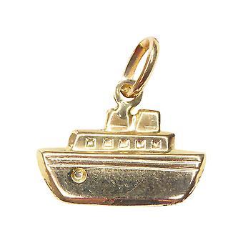 Colgante de oro del barco