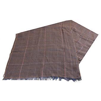 Bassin et brun Atteveld cocher grande écharpe en laine - marron