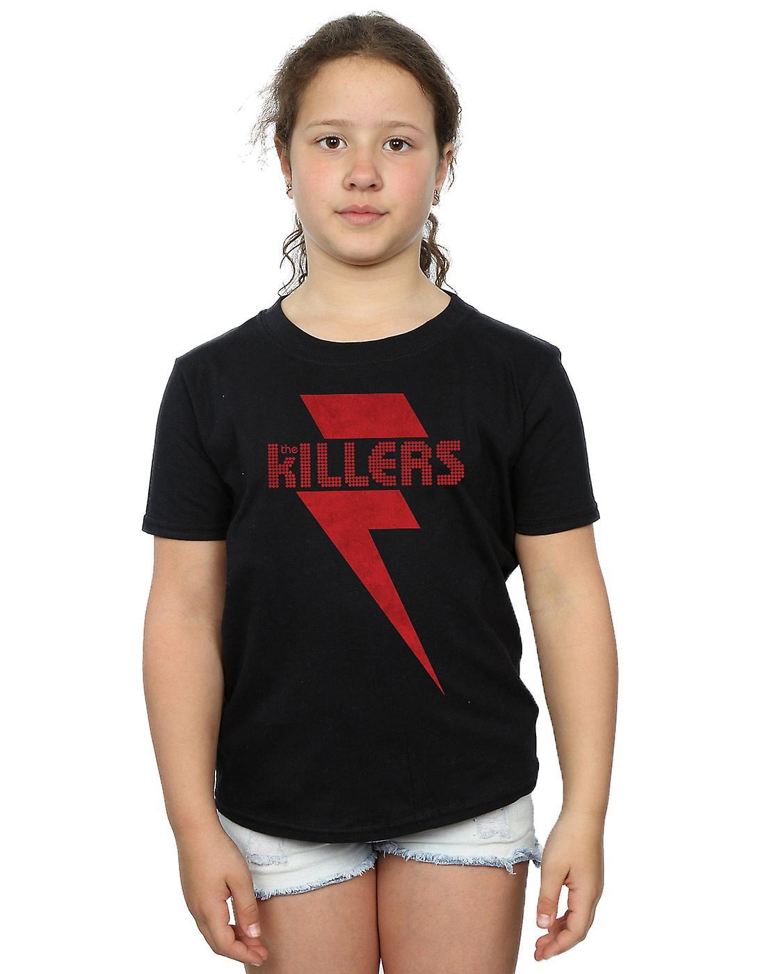 Los asesinos niñas perno rojo t-shirt