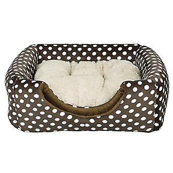 Trixie Cave / bed Soft Mina Brown-Beige (Dogs , Bedding , Igloos)