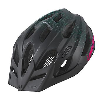 Limar Berg-EM Fahrradhelm // schwarz/pink matt