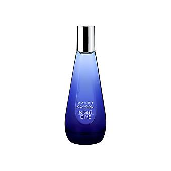 Davidoff Cool Wasser Nacht Tauchgang Woman Eau de Toilette Spray 30ml