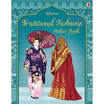Traditional Costumes from Around the World Sticker Book by Emily Bone