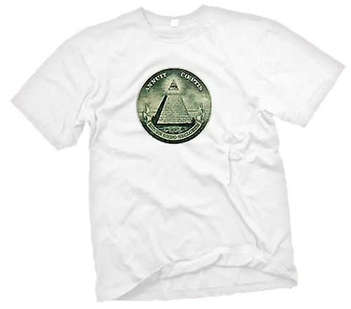 Herr T-shirt - Illuminati - konspiration
