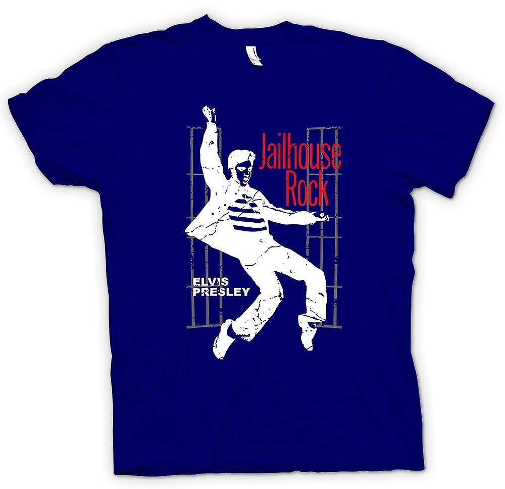 Mens t-shirt-Elvis Presley Jailhouse Rock