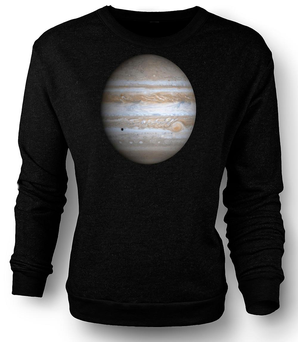 Mens Sweatshirt Jupiter - Cool Astronomy