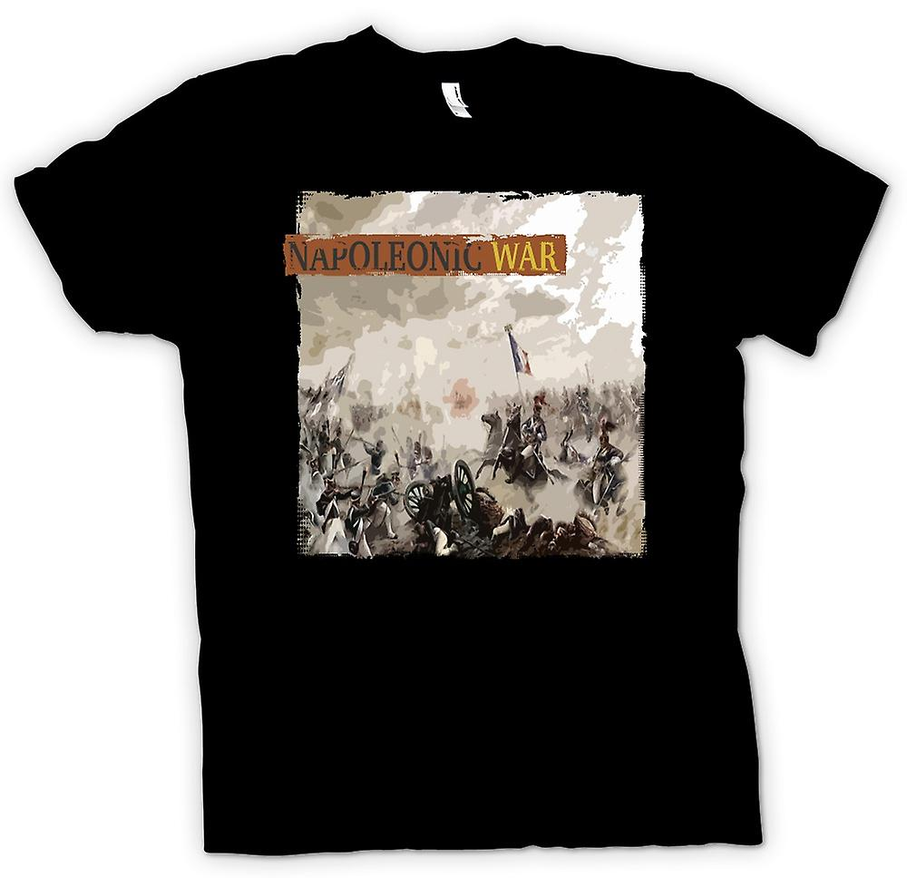 Womens T-shirt - Napoleonic War - French v English