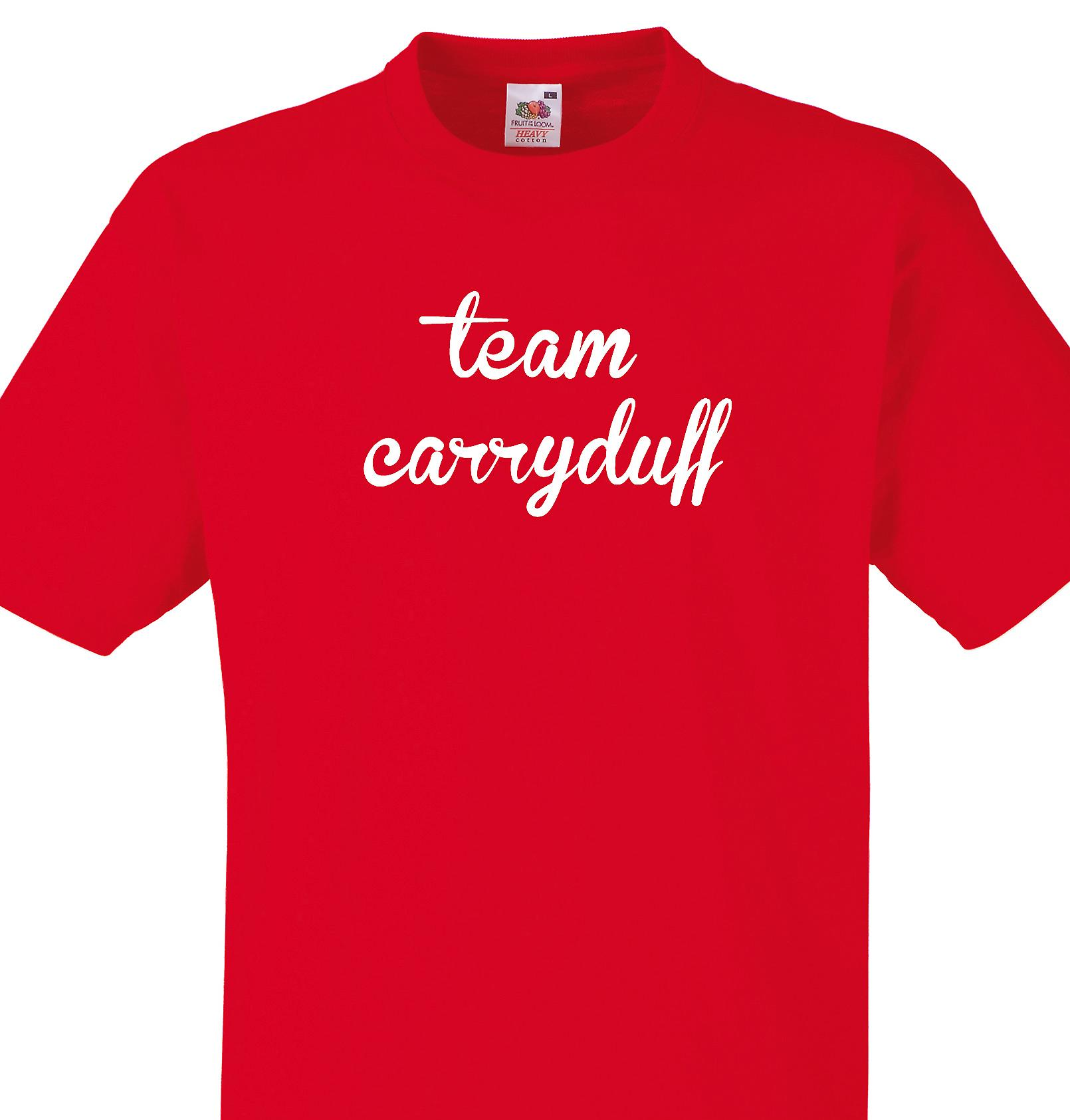 Team Carryduff Red T shirt