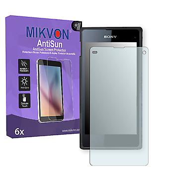 Sony Xperia D5503 Screen Protector - Mikvon AntiSun (Retail Package with accessories)