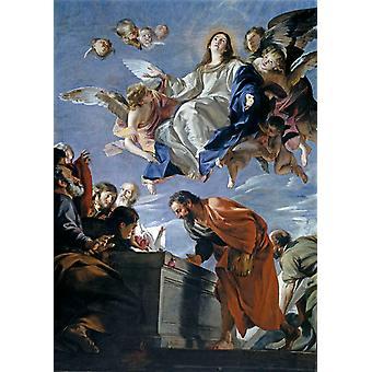 Assumption ofthe Virgin,Juan Martin Cabezalero,60x40cm