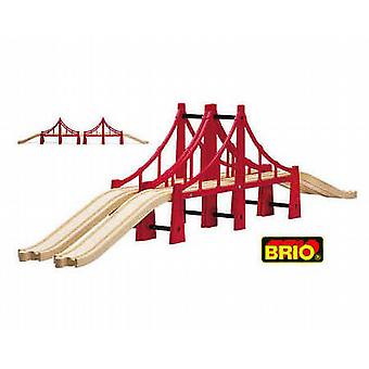 BRIO Double Suspension Bridge Wooden Toy