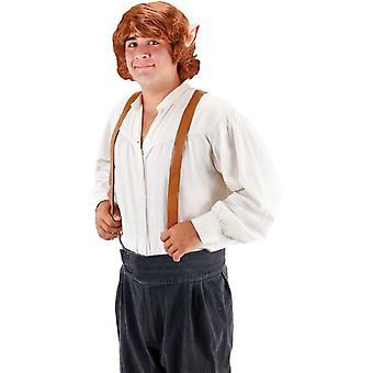 Erwachsenen Perücke für Bilbo Beutlin