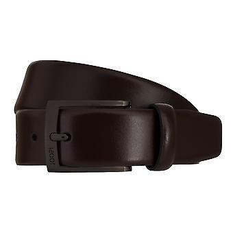 JOOP! Belts men's belts leather belt Bordeaux 7870