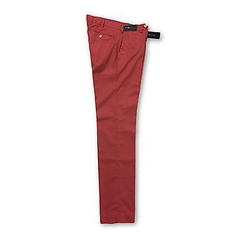 Ralph Lauren red brushed cotton trousers