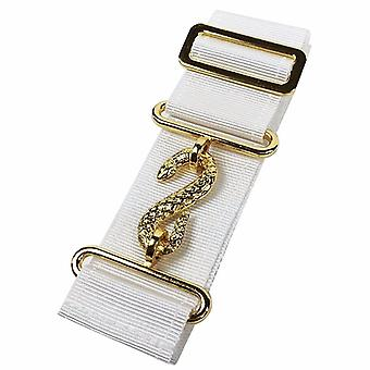 Masonic Belt Extender White