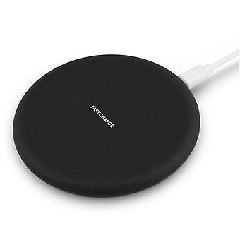 Stuff Certified ® Y001 Qi Universal Wireless Charger 9V - 1.67A Wireless Charging Pad Black