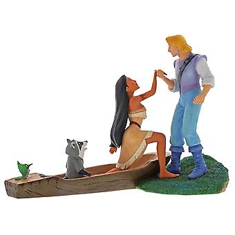 Disney Enchanting Collection Hear with Heart Pocahontas Figurine