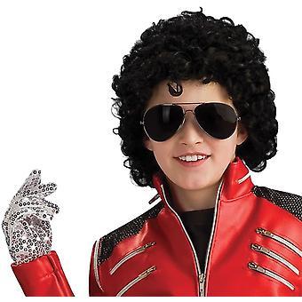M Jackson Silver kind handschoen