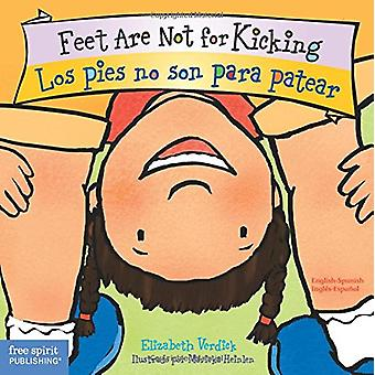 Feet are Not for Kicking / Los Pies no son para Patear by Elizabeth V