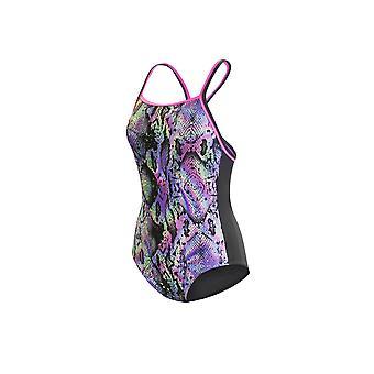 Maru Anaconda flip back swimwear para meninas
