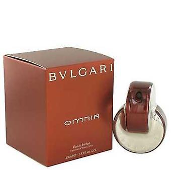 Omnia 通过 Bvlgari Eau De 香水喷雾 1.4 Oz (妇女) V728-403224