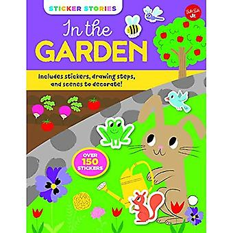 Sticker Stories: In the Garden: Includes stickers, drawing steps, and scenes to decorate! (Sticker Stories)