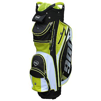 Masters T900 trolley Cart Golf Bag zwart/wit/lime