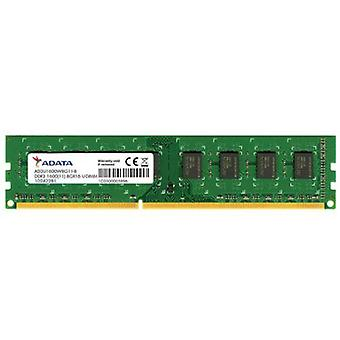ADATA 8GB, DDR3, 1600 MHz (PC3-12800), CL11, memoria DIMM Single Rank, 512 x 8