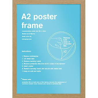 Eton eg ramme A2 plakat / Print stel