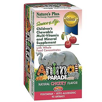 Nature's Plus Source of Life Animal Parade Cherry Chewables 90 (29970)