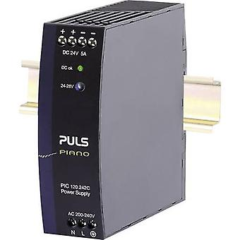 PULS Piano Rail mounted PSU (DIN) 24 Vdc 5 A 120 W