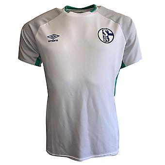 2019-2020 Schalke Umbro Training Shirt (White)