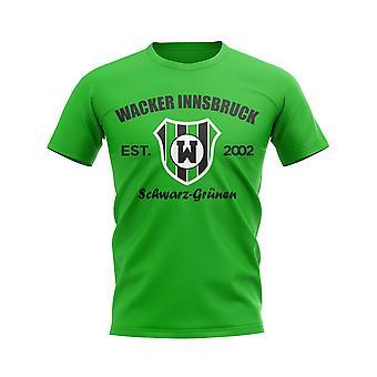 Wacker Innsbruck Established Football T-Shirt (Green)