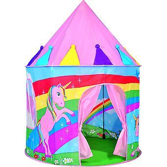 空气儿童王国的精神弹出独角兽玩帐篷