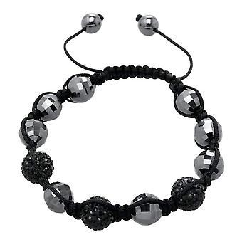 Carlo Monti JCM1145-592 - Women's bracelet with hematite - Fabric
